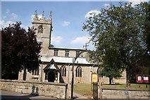 SK7288 : St.Peter's church, Clayworth by Richard Croft