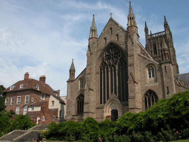 West Front of Worcester Cathedral
