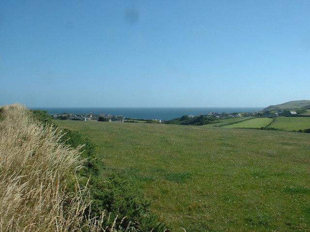 Farmland, looking over Aberdaron