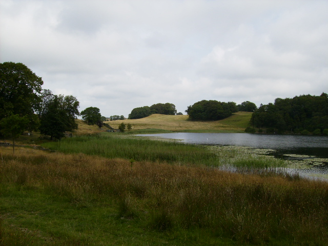 The northern end of Bigland Tarn