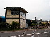 SO6302 : Lydney Junction Signalbox by John Lucas