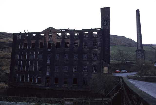 Woodhouse Mill, Langfield, Todmorden