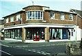 SU4410 : Art Deco shop in Obelisk Road / Canada Road by Alan Cooper