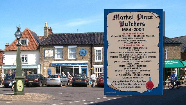 Southwold butchers 1684-2004