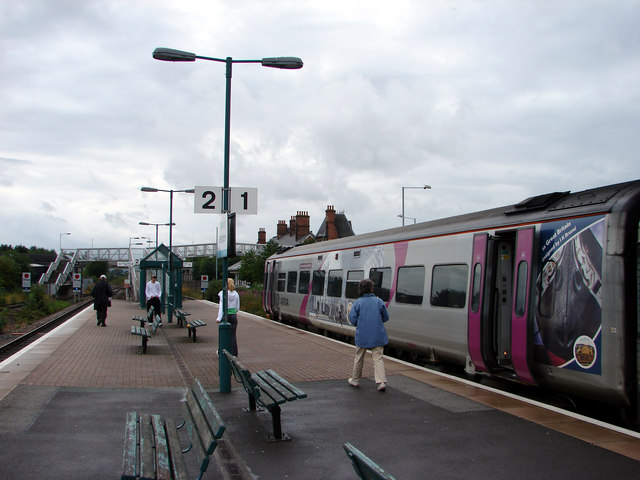 New Station Platform, Welshpool