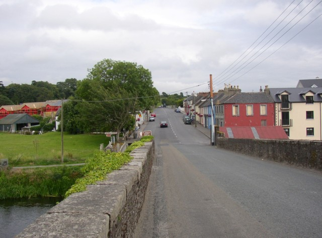Main street, Tinnahinch, Co. Carlow