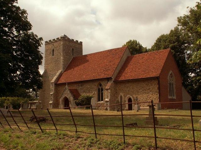 St. Lawrence's church, Asheldham, Essex