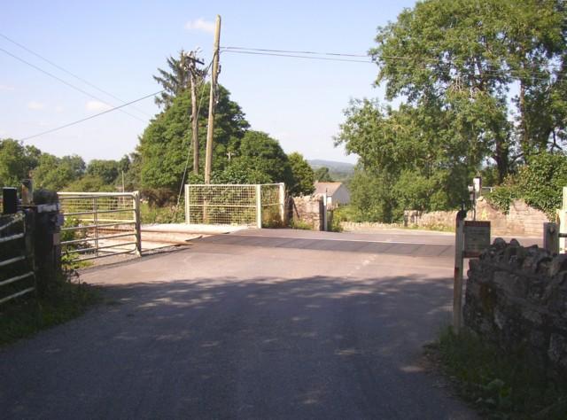 Level Crossing near Knocktopher, Co.Kilkenny