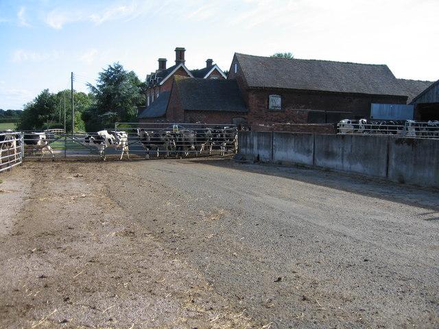 Manor Farm, Newton, Staffordshire.