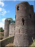 SO4024 : Grosmont Castle by Philip Halling