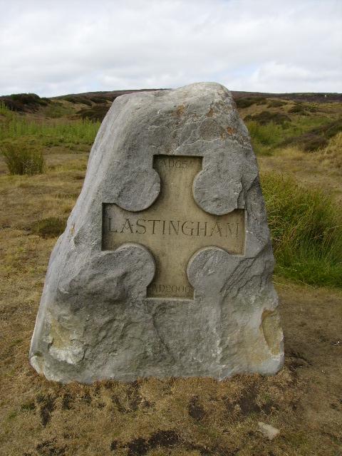 Commemorative stone erected for the millennium
