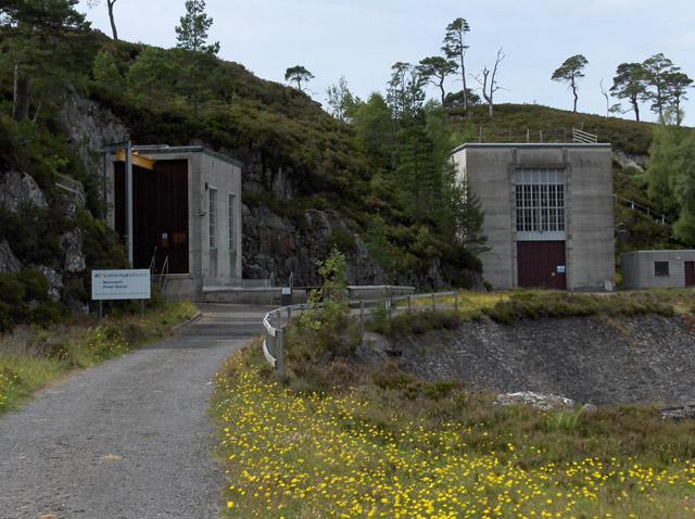 Mullardoch Power Station by Andrew Smith