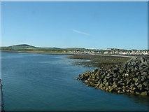 NX3343 : Harbour entrance, Port William by David Medcalf