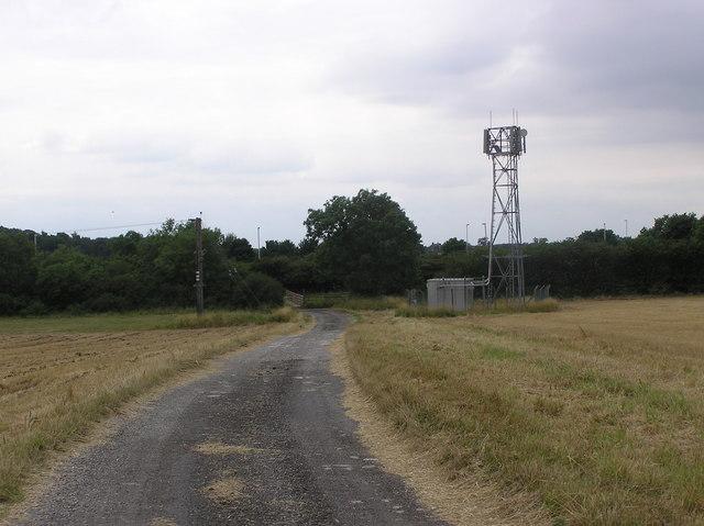 Phone Mast : Greystones