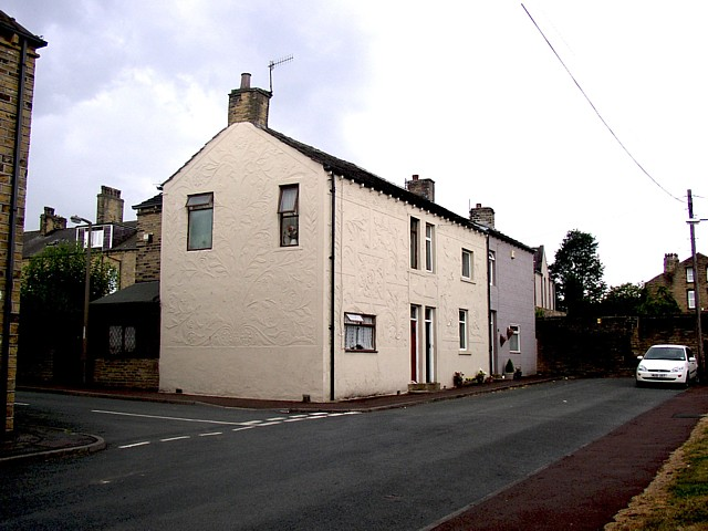 The 'Flower House', John Street, Elland