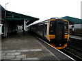 SH6115 : Barmouth Railway Station by John Lucas