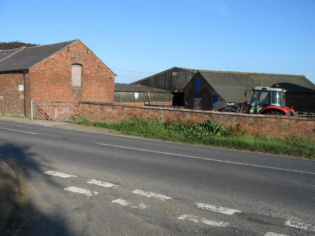 Slate House Farm, Bromley Wood, near Abbots Bromley, Staffordshire.
