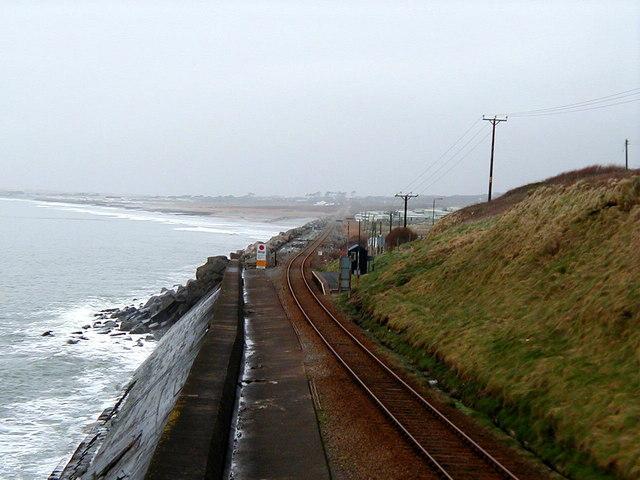 Cambrian Coast Railway at  Llanaber