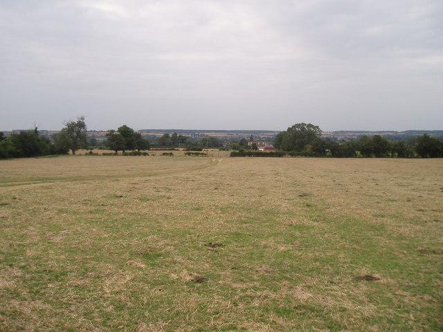 Fields looking towards Carlton