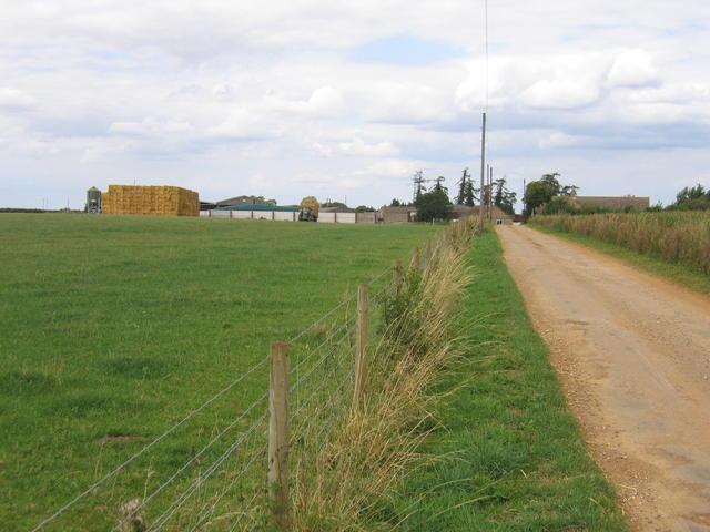 Driveway to Hill Farm