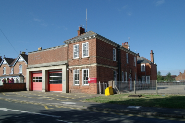 Pershore fire station