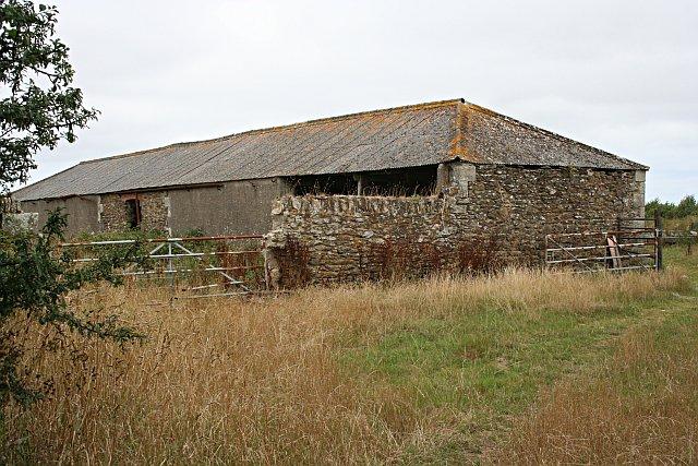Old Barn near the Crossroads