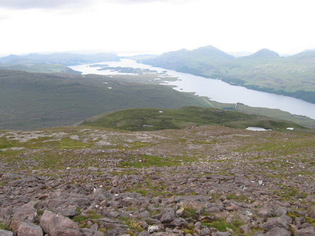 Slopes of Meall a' Ghiuthais