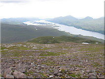 NG9763 : Slopes of Meall a' Ghiuthais by Chris Wimbush