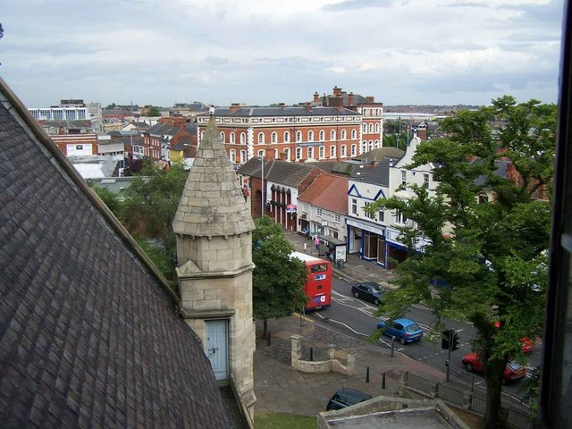 View from Ringing Room in St. James Church