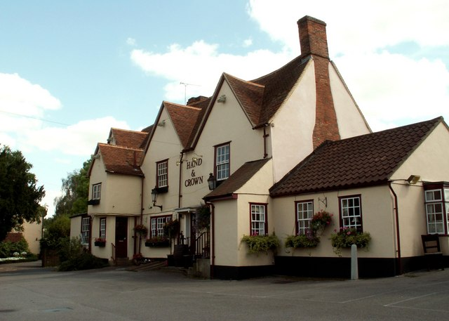 'Hand & Crown' inn, Sawbridgeworth, Herts.