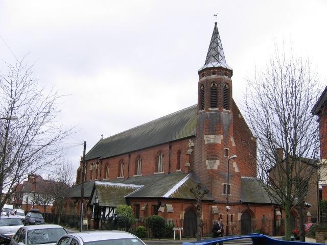 St Luke's church, Farquhar Road