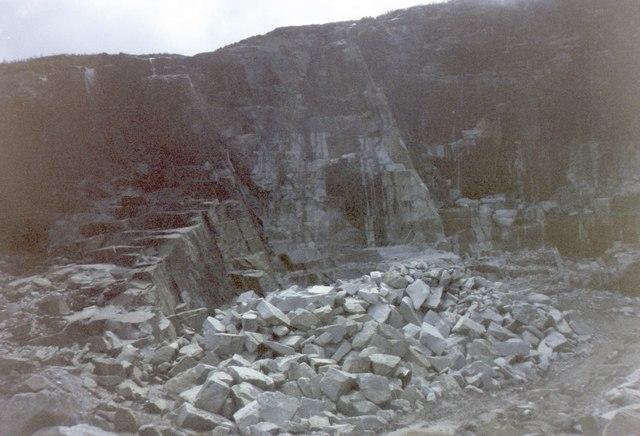 Granite Quarry On Thomas S Mountain 169 Eric Jones Cc By Sa