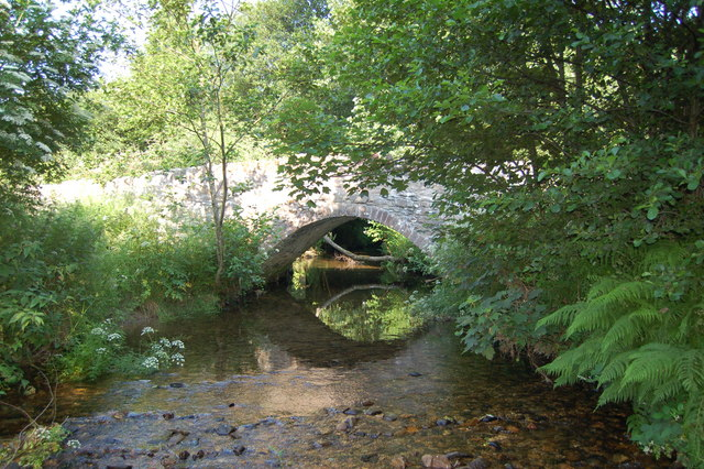 The Bridge at Luckwell Bridge