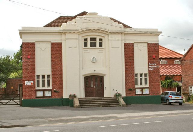 Blyth Notts, Barnby Memorial Hall
