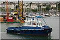 "J5082 : The tug ""Farset"" at Bangor by Albert Bridge"