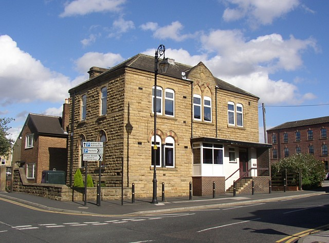 Building, Commercial Street (east side, at junction with Albion Street), Morley