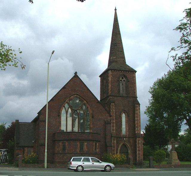 Church of St John the Evangelist, Trent Vale