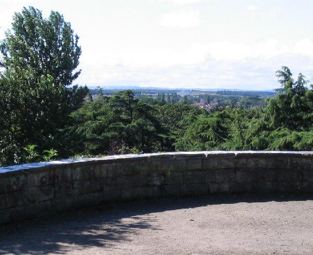 View from Bidston Court Gardens