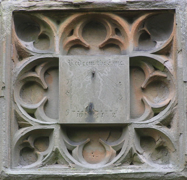 Sundial : St.Mary's Church : Barton