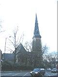 TQ3473 : Former church of St Peter, Dulwich Common by Stephen Craven