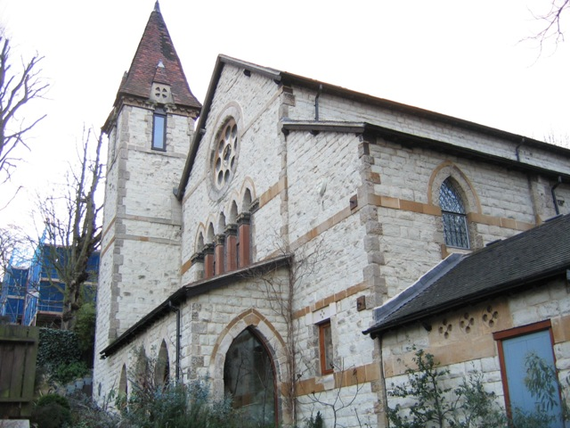 Converted church, Taymount Rise