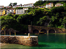 SX2553 : Looe Harbour by Pam Brophy