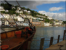 SX2553 : Fishing Industry: Looe by Pam Brophy