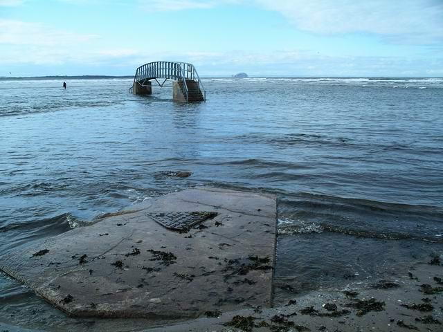 Bridge to nowhere, Belhaven Bay