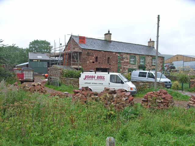 Building work at Knock