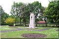 NZ1751 : Annfield Plain War  Memorial by John Charlton