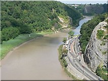ST5673 : Avon Gorge and Portway by Rich Tea