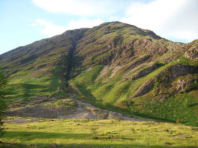 Clachaig and the gully