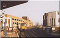 TQ3476 : Railway and supermarket car park, Peckham Rye by Stephen Craven