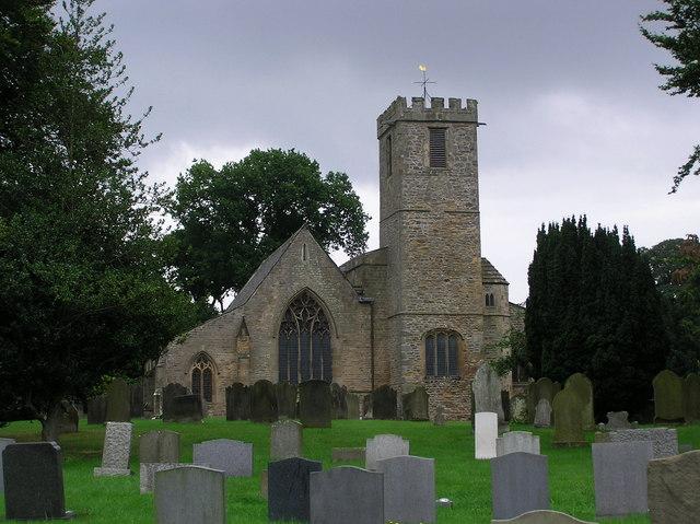 St. Agatha's Church : Gilling West